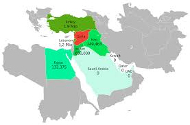 Jordan Country Map Syria Country In The Middle East