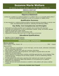 What Is Job Profile In Resume by 16 Free Medical Assistant Resume Templates