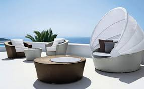 Luxury Beach Chair Modern Furniture White Modern Outdoor Furniture Compact Plywood