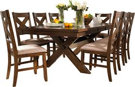 Brown Dining Room Table Laurel Foundry Modern Farmhouse Isabell 9 Piece Dining Set