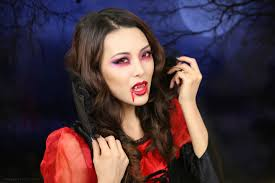 tutorial vampire makeup halloween 2013 from head to toe