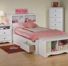 White Bookcase With Drawers by Bedroom Terrific Headboard Bookcase Design Ideas With White Wood