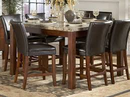 homelegance achillea counter height dining table marble top 721m