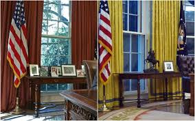 trump desk oval office renovation the white house redesign