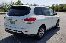 nissan pathfinder rear bumper 2016 nissan pathfinder s rental review u2013 eighteen grand the