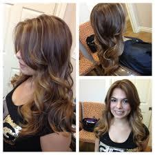 bayalge ombré haircolor highlights long layers haircut haircut