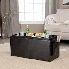 coffee table coffee table amazing wicker storage ottoman set