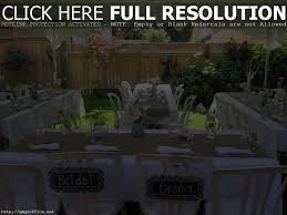 Wedding Backyard Reception Ideas by Outdoor Bbq Wedding Reception Ideas Gallery Wedding Decoration Ideas