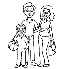 christopher columbus and family coloring page coloring home