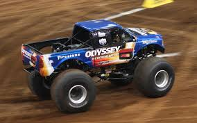 monster truck bigfoot 5 bigfoot monster truck wears odyssey battery colors truck trend news