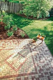 Brick Paver Patterns For Patios by Best 25 Paver Patterns Ideas On Pinterest Brick Paver Patio