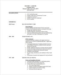 Maintenance Technician Resume Sample by Hvac Technician Resume 12 Hvac Technician Resume Sample Uxhandy Com