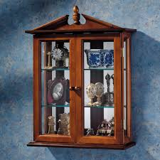 Corner Wall Cabinet Kitchen Curio Cabinet Corner Wall Hanging Curio Cabinets Rounded