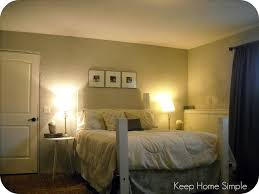 keep home simple redecorating our masterbedroom on a small budget