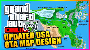 Peyton Colorado Map by Updated Gta Series Usa Concept Map Featuring Las Venturas Liberty