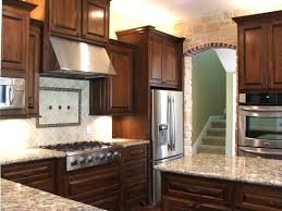 Furniture Style Kitchen Cabinets Kitchen Kitchen Color Ideas With Oak Cabinets And Black