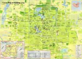 China City Map by Travel Map Of Kaifeng City Zhengzhou And Kaifeng Tour Tours In