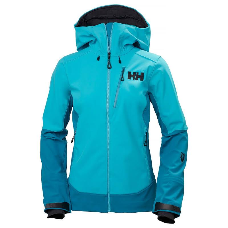 Helly Hansen Odin Mountain Softshell Jacket Scuba Blue Large 62910-511-L