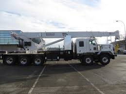 kenworth c500 weldco 45 t stiff boom crane on kenworth c500 commercial truck