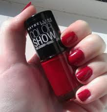 notd maybelline color show in paint the town maybelline
