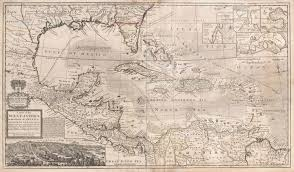 Map Of Western Caribbean by File 1732 Herman Moll Map Of The West Indies Florida Mexico And