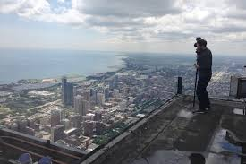on top of the sears tower chuck przybyl director of