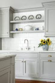 Upper Kitchen Cabinet Ideas Best 25 Gray Kitchen Cabinets Ideas Only On Pinterest Grey