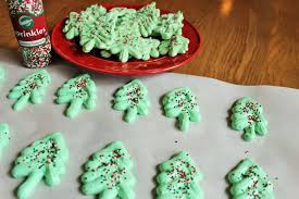 o christmas tree meringue cookies this scattered life