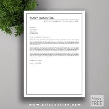 Resume Template For Mac Pages 100 Modern Creative Cover Letter Resume Cv Cover Letter