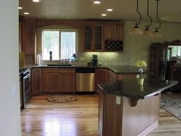Kitchen Counter Designs by Kitchen Colors For Hickory Cabinets Hickory Cabinets And Granite
