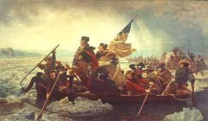 George Washington Crossing the Delaware  oil on canvas by Emanuel Leutze        in Encyclopedia Britannica