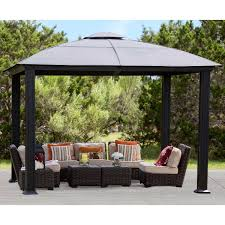 patio gazebos and canopies outdoor structures costco