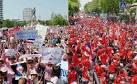 สื่อนอกระบุเสื้อแดงชุมนุมชี้การเมืองไทยเปลี่ยน ประเมินเสื้อชมพูยัง ...