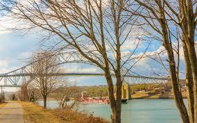 life on a bridged sagamore bridge bourne bridge and cape cod