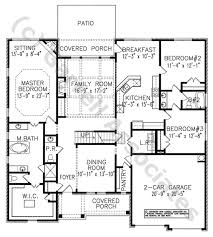 Split Level Ranch Floor Plans by Interior House Plan