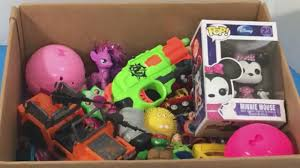 Minnie Mouse Toy Box Box Of Toys Box Full Of Toy Kids Toys Toy Opening Kids