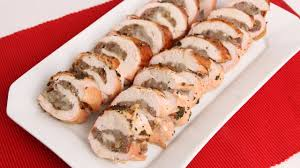 thanksgiving turkey wrapped in bacon roasted stuffed turkey breast recipe laura vitale laura in the