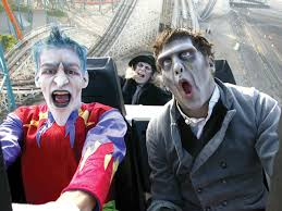 amusement parks go haunted for halloween haunted travel