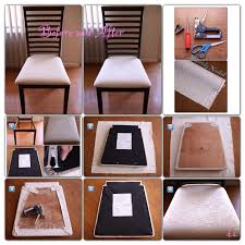 video tutorial how to reupholster dining chairs and protect the