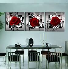 popular framed 3 piece canvas painting buy cheap framed 3 piece