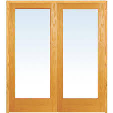 mmi door 62 in x 81 75 in classic clear glass 1 lite unfinished