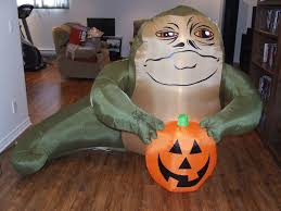 upcoming inflatable jabba the hutt halloween lawn decoration by