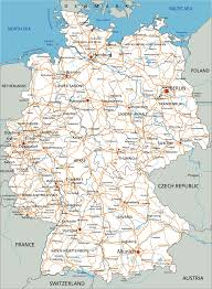 Map Germany by Map Germany