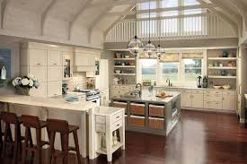 floating white kitchen cabinet glass door country cottage kitchens