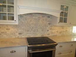 Backsplash For Kitchens Marble Subway Tile Kitchen Backsplash With Feature Time Lapse