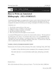 Annotated Bibliography Example MLA Citation   EXAMPLE Annotated Bibliography Form How to write an argumentative historical essay   FC