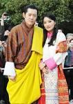 ブータン:ブータン国王夫妻 明治神宮を