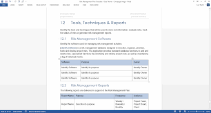 life planner template risk management plan template the risk management plan is part of the system concept development phase in the software development life cycle sdlc