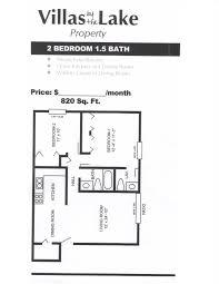 2 Bedroom 1 Bath Floor Plans 2 Bedroom 1 5 Bath Smaller Floorplan Floor Plan Pace Realty