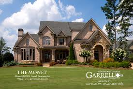 French Style Floor Plans Monet House Plan House Plans By Garrell Associates Inc